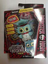 Monster High Secret Creepers Sir Hoots a Lot Owl Ghoulia's Pet Figure 2013 NIP