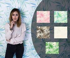 Vliestapete Designdschungel Laura N. Tapete Palmen Blätter Floral (3,46€/1qm)