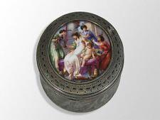 boite à pilules porcelaine 1880