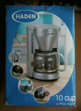 HADEN 10-CUP COFFEE MAKER MODEL NO.13020 750W COLOUR SILVERY-GREY