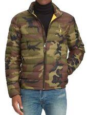 Genuine Polo Ralph Lauren Army Camo Camouflage Down Jacket Size 3LT XXXL New