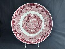 Mason's Vista Pink Cake Plate