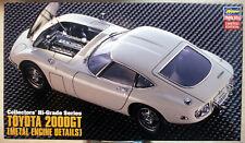 Hasegawa 51047 1967 Toyota 2000 GT mit Motor + PE Teilen 1:24 limitiert
