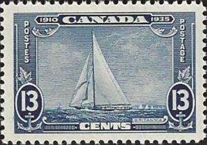 Canada  # 216   ROYAL YACHT BRITANNIA    Brand New 1935 Original Pristine Gum