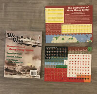Destruction Of Army Group Center - World at War #9 Unpunched Solitaire Wargame