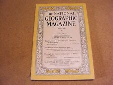 National Geographic June 1926 Logan Alps Africa by Motor Gillette Ads