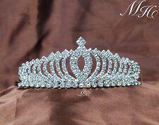 Small Pretty Tiaras Diadem Hair Combs Rhinestones Girls Crowns Bridal Prom Party