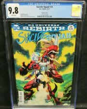 Suicide Squad #28 (2017) Portacio Harley Quinn Variant CGC 9.8 White Pages GG211