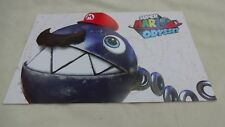 Super Mario Odyssey Cappy Nintendo  2017 Poster Promo