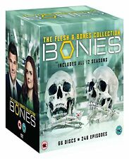 "BONES THE FLESH AND BONES 1-12 COMPLETE COLLECTION DVD BOX SET 66 DISC R4 ""NEW"""