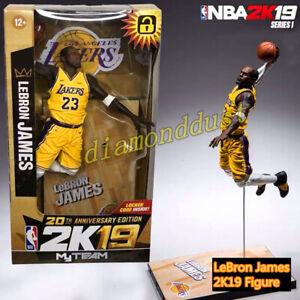"NBA LeBron James Lakers Basketball McFarlane 7"" Action Figure Kid Toy Figurines"