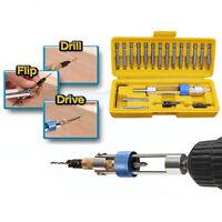 20pcs/set Half Time Drill Driver Multi Function Screwdriver Tool Screw Power HOT