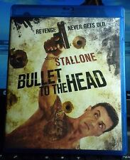 BULLET TO THE HEAD Blu-Ray Sylvester Stallone '13 BLU RAY ONLY