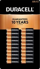 Duracell MN1500 Alkaline AA Batteries 40-count Coppertop
