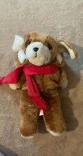 New listing Vintage Avon Plush Puppy with scarf 1982 full size