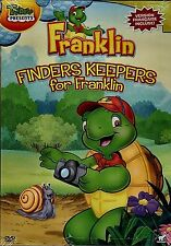 NEW SLIM CASE DVD // TREEHOUSE - FRANKLIN - FINDERS KEEPERS- ENGLISH AND FRENCH