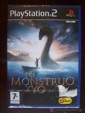 PS2 MI MONSTRUO Y YO - PAL ESPAÑA PLAYSTATION 2 - NUEVO, PRECINTADO (4Y)