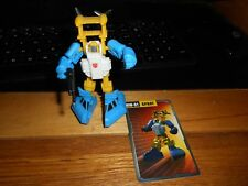 iGear Transformers Mini Warriors MW-01 Spray, complete w packaging