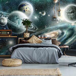 Vlies Fototapete Weltall Universum Weltraum Planeten Galaxy Kosmos Sterne Kinder