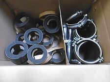 13 x Müpro ISO-Schellen Typ M Rohrschelle mit DÄMMGULAST gelb und ISO-Schale