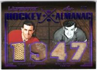 MAURICE RICHARD BILL DURNAN 2019-20 Leaf Ultimate HOCKEY ALMANAC 1947 #7/9