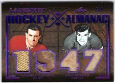 MAURICE RICHARD BILL DURNAN 2019-20 Leaf Ultimate HOCKEY ALMANAC 1947 #7/9