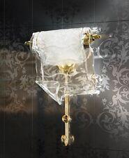 Applique classico di design in foglia oro e vetro coll. BELL poeme 1150/A1L