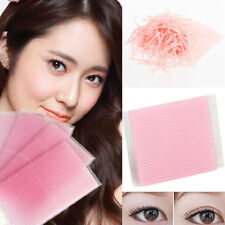 100Pcs Invisible Fiber Double  Eyelid Stickers Eye Tapes Side Adhesive