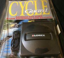"(New) LOREX-""Cycle Guard"" Electronic Bike Alarm Model CG-4515, Theft Protection"