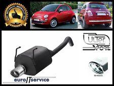 SILENCIEUX FIAT 500 1.2i 1.4i HB 2007 2008 2009 2010 2011 2012 2013 Ø95x65