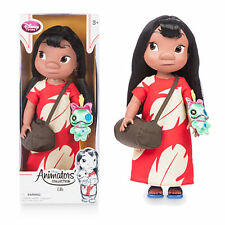 Nuevo Oficial Disney Lilo & Stitch 40cm Lilo animador Muñeca Con Scrump Peluche