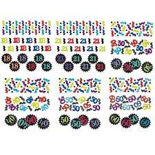 Confettis et cotillons de fête anniversaire-adulte pour la maison