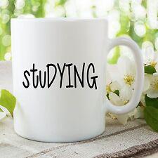 Student Mug Funny Novelty Adult Humour Studying Gift Ceramic Cups WSDMUG760