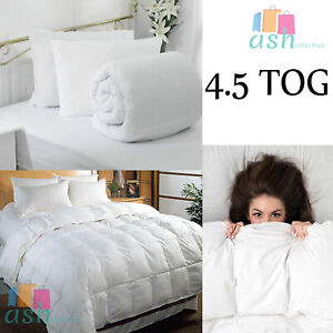 NEW 4.5 TOG ANTI ALLERGY DUVET HOTEL QUALITY COROVIN QUILT SINGLE, DOUBLE, KING