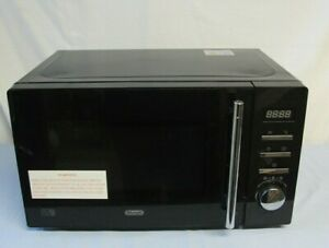 Delonghi Microwave AM820C 800W 20L Black Working Order