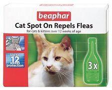 Beaphar Gatto Gattini Spot On trattamento tiene lontano le pulci 12 settimane di protezione