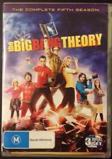 the BIG BANG THEORY season 5 Region 4   3 x DVD's  Very Good Condition
