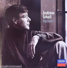 Andreas Scholl - Heroes (CD 1999 Decca (Made in Germany)) With slipcase Nr MINT