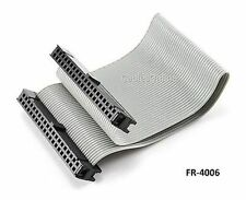 6 inch 40-Pin 2x20-Pin 2.54-Pitch Female 40Wire IDC Flat Ribbon Cable, FR-4006