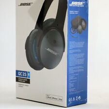 Bose QuietComfort QC25 Acoustic Noise Cancelling Headphones Black, New, Sealed