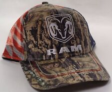 Hat Cap Dodge RAM Truck Camo USA Mesh OC