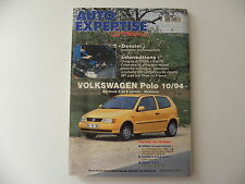revue automobile AUTO-EXPERTISE VW POLO berlines 3 / 5 portes après 10 / 1994
