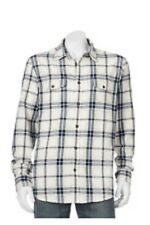 SONOMA FLANNEL SHIRT - SIZE 4XB - 100% COTTON - NEW W/TAG