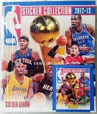 PANINI NBA STICKER COLLECTION 2012 2013 STARTER ALBUM KIT NEW