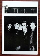 Carte postale The Cult , postcard