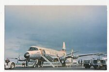 Continental Airlines Viscount Aviation Postcard, A662