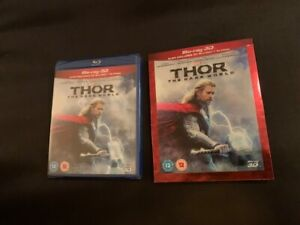 Thor: The Dark World (Blu-ray Disc, 2014, 2-Disc Set, Includes Digital Copy 3D)
