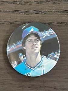 1986 Star Baseball Buttons Dale Murphy Atlanta Braves (A)