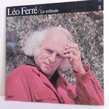 "33T Léo FERRE Disque Vinyle LP 12"" ZOO - LA SOLITUDE - ALBATROS - BARCLAY 90311"