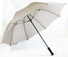 Hochwertige Regenschirm XXL in grau , 130 cm Fiberglass (ST1036) mit windproof